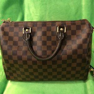 Louis Vuitton Speedy 30 Band, beautiful bag